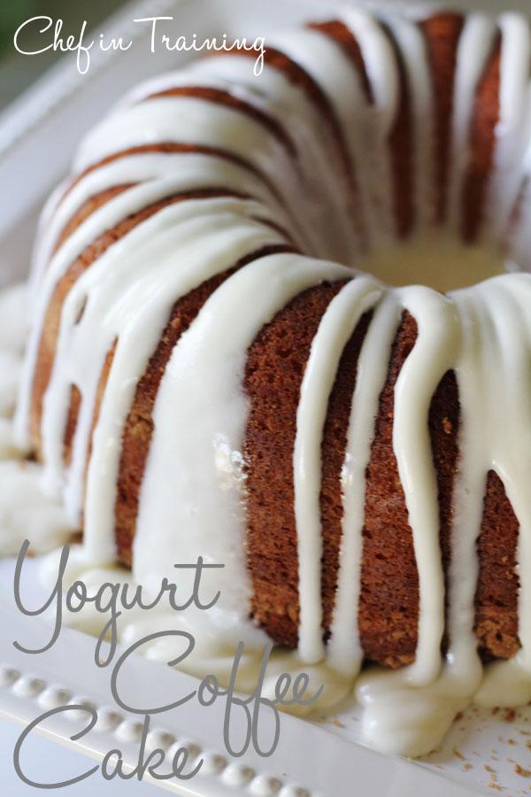 Yogurt Coffee Cake - Chef in Training