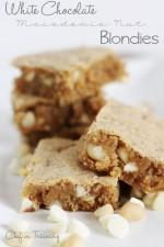 White Chocolate Macadamia Nut Blondies