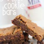 Malt Cookie Bars