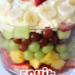 Easy Fruit Trifle!