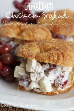 Fruity Chicken Salad Sandwiches