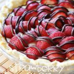 Strawberry Cream Pie!...  This recipe is a total hit!  It is as delicious as it is gorgeous!