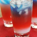Layered Patriotic Drinks! Beautiful and delicious!
