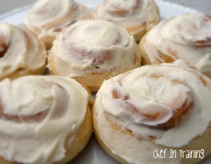 Cinnamon Rolls Recipe!! So delicious with cream cheese frosting!!