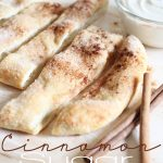 Cinnamon Sugar Sticks!  So easy to make and they taste absolutely delicious!