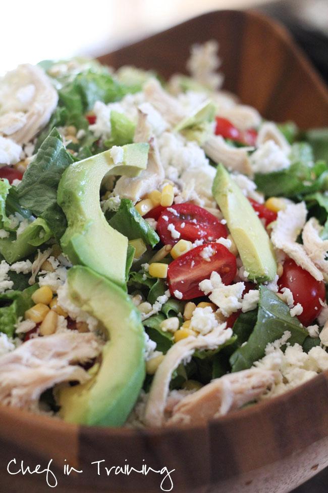 Feta Avocado Chicken Salad | Chef in Training
