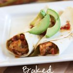 Baked Chicken Fajitas!... Healthy, delicious and SO EASY! Definitely a family favorite!