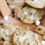 S'more Pudding Cookie!  A delicious take on the classic treat!  Who doesn't love a soft and tasty cookie?! #smore #cookie