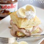 Nutella Cream Pastry Puffs