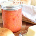 No-Cook Strawberry Peach Jam