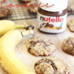 Nutella Banana Cookies