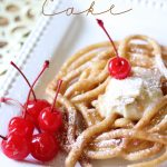 EASY Funnel Cakes!  These are so quick to fix and SO delicious!