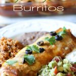 Smothered Chile Colorado Burritos (CROCK POT)! It doesn't get much easier or delicious than this meal!  It is fantastic!