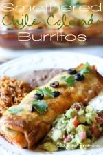 Smothered Chile Colorado Burritos (Crock-Pot)