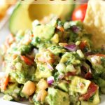 Avocado Salsa! This stuff is incredible to top (or dip) your favorite Mexican food in!