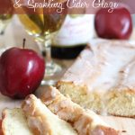 Sparkling Apple Cider Pound Cake with a Sparkling Apple Cider Glaze! This recipe is absolutely incredible!