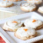 Tropical Carrot Cake Cookies