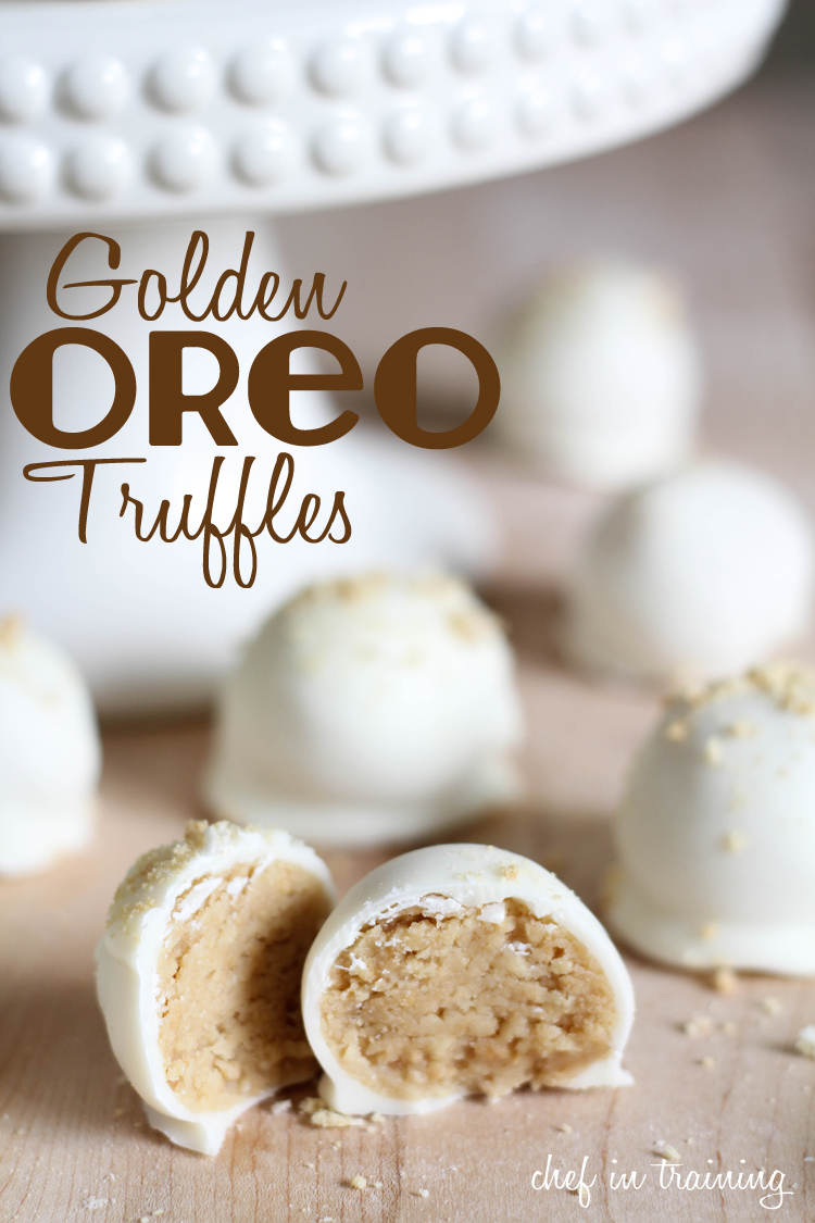 No bake golden oreo truffles chef in training for Easy no bake dessert recipes with few ingredients