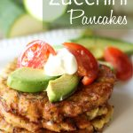 Zucchini Pancakes! A fun new way to use up all that zucchini! #zucchini #recipe
