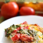 Overnight Breakfast Strata!... An easy fix and such a yummy combo of flavors! My family absolutely loves this brunch! #recipe #breakfast