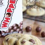 Malt Whopper Pudding Cookies!... A soft and delicious cookies with crunch Whoppers! These cookies are awesome! #cookie #recipe