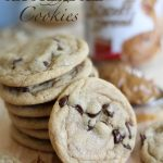 Biscoff Chocolate Chip Cookies!... these are so soft and incredible! One of my favorite cookies! #cookie #recipe