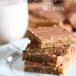 Peanut Butter Bars!  These are honestly THE BEST! You need to try these!