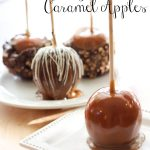 Gourmet Caramel Apples!... This recipe is honestly THE BEST! The caramel is not only delicious, but makes dipping apples SO EASY! #apple #recipe #dessert