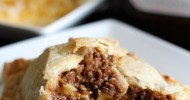 BBQ Beef Pie Pockets!... a man-pleasing meal that your whole family will love! Whips up in a matter of minutes! #beef #dinner #recipe