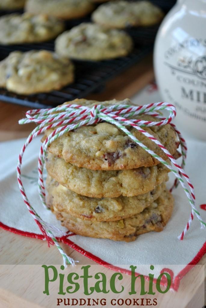 Cranberry Pistachio Pudding Cookies Recipes — Dishmaps