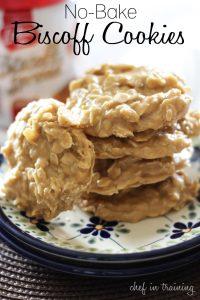 No-Bake Biscoff Cookies