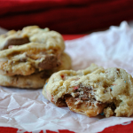 Peanut Butter and Caramel M&M Cookies