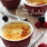 Creme Brûlée!... this recipe is delicious and SO easy! One of THE BEST Creme Brûlées I have ever had! #recipe #dessert