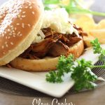 Slow Cooker BBQ Pulled Pork... An easy and delicious meal that throws together quickly! #slowcooker #recipe