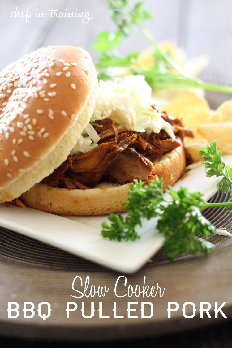 Slow Cooker BBQ Pulled Pork | Chef in Training