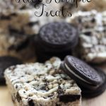 Oreo Rice Krispie Treats on chef-in-training.com ... This recipe is a new family favorite! #oreo #dessert #recipe