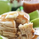 Sparkling Apple Cider Pancakes!  A delicious and flavorful breakfast! #breakfast #recipe #apple