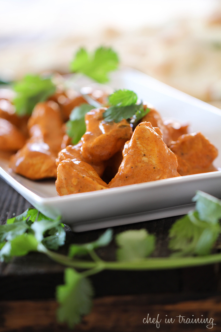 Chicken Tikka Masala on chef-in-training.com ...This dinner is JAM PACKED with delicious flavor and is surprisingly super easy to make! #dinner #recipe