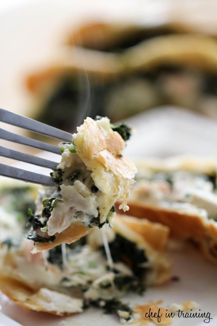 Greek Spinach Feta Chicken Pockets   Chef in Training