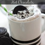 Marshmallow Cookies and Cream Hot Cocoa