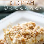 Krispie Ice Cream Dessert on chef-in-training.com ...This recipe tastes just like fried ice cream, but no frying or baking required! So easy and SO delicious!