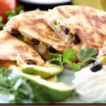 Santa Fe Chicken Quesadillas