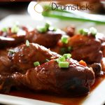 Slow Cooker Honey BBQ Drumsticks from chef-in-training.com ...ONLY 3 simple ingredients to create this delicious meal! It is so simple yet tastes like you have been working in the kitchen all day long! #recipe #slowcooker