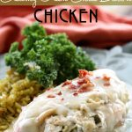 Smothered Creamy Green Chile Bacon Chicken