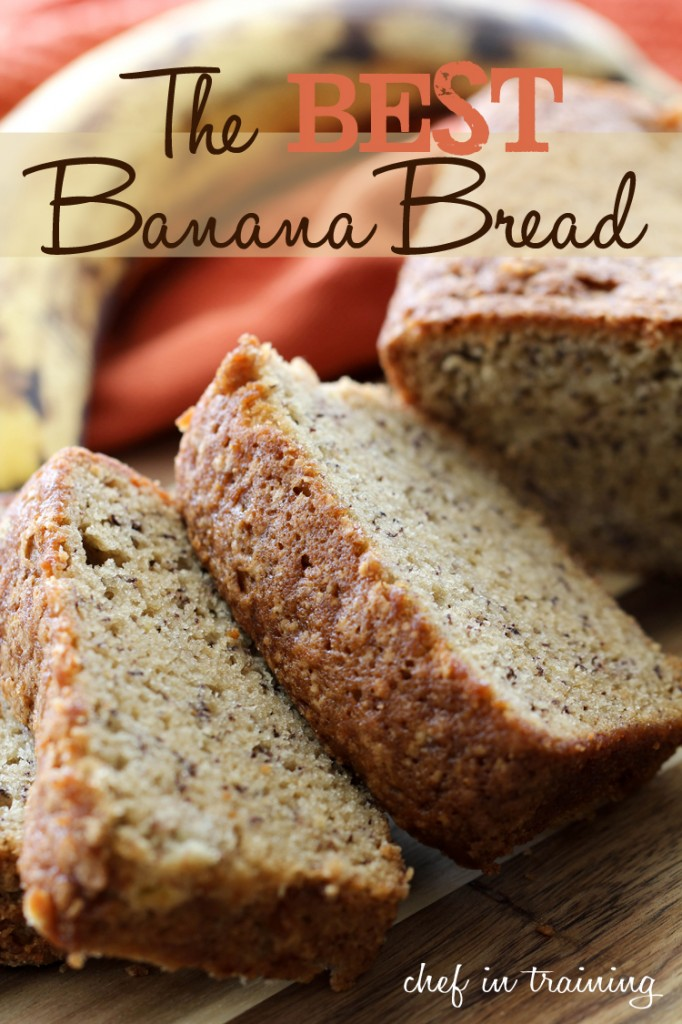 The Best Banana Bread Chef In Training