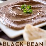 Black Bean Hummus from chef-in-training.com ...This could possibly be the best hummus recipe ever! It is SO good and jam-packed with flavor!