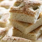 Focaccia Bread on chef-in-training.com ...This bread is so delicious and very easy to whip up! It is a great side dish to any Italian meal!