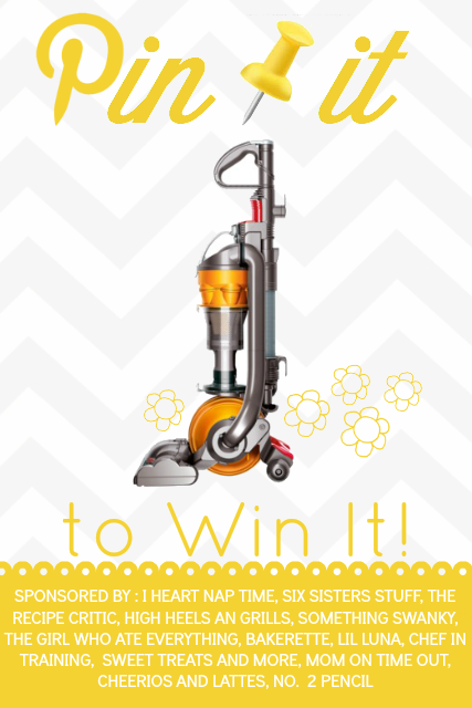Pin it To Win it- Dyson Giveaway! Come visit chef-in-training.com to enter for your chance to win it!