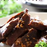 Slow Cooker Hawaiian Ribs on chef-in-training.com ...A delicious and EASY meal! Dump it in the slow cooker and let it do all the work for you!