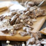 S'mores Muddy Buddies from chef-in-training.com ...This stuff is delicious and dangerously addictive! I seriously can't get enough of it!